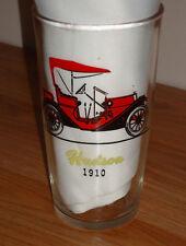 Antique Cars Hudson Stutz drinking glass Hazel Atlas