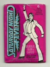 Saturday Night Fever Movie Trading Cards (Donruss, 1977) Wax Pack