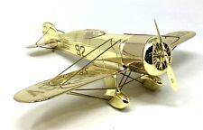 SHELL GOLDEN EDITION WEDELL WILLIAMS RACER PLANE AIRPLANE Metal Die Cast