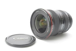 Canon EF 17-40mm F/4 L Series USM Lens - With Front and Rear Lens Caps