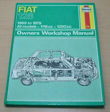 FIAT 128 1969 - 1979 Motor Getriebe Workshop Haynes Reparaturanleitung H87