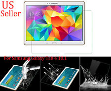 "Tempered Glass Screen Film For Samsung Galaxy Tab 4 10.1"" SM-T530 Tablet Hottest"
