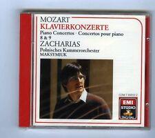 MOZART CD (SEALED) PIANO CONCERTOS 8.9 / CHRISTIAN ZACHARIAS
