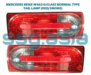 MERCEDES BENZ W463 G-CLASS NORMAL TYPE TAIL LAMP (RED/SMOKE)
