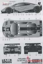 1/24 1996 McLaren F1-GTR Suzuka TBF #8 decal set by Tabu Design ~ 24052
