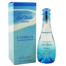 Davidoff Cool Water Woman Caribbean Summer Edition 100ml Eau de Toilette NEU OVP