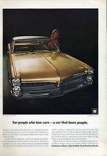1967 Pontiac LeMans 2-door  Hardtop Coupe PRINT AD
