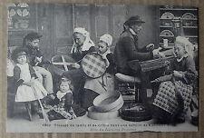 Carte postale repro Bannalec tissage de tamis et crible , postcard