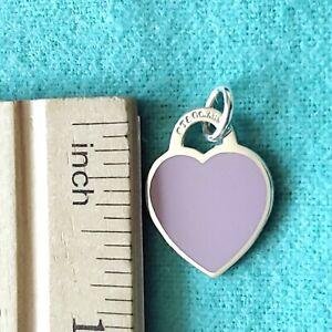 "Tiffany & Co ""Return to Tiffany"" in lavender charm. New."