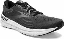Brooks Men's Transcend 7 Running Shoe, Black/Ebony/Grey, 10 , 110331-051