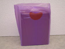 """Small  7""""x3""""x12"""" Plastic Merchandise Shopping Bags You Pick Color & Lot Qty."""