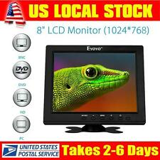 "8"" S801H Portable Digital HD TFT LCD Monitor VGA BNC Video Audio DVR HDMI Input"