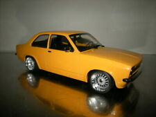 1:18 Opel Kadett C Orange/Gelb TUNING UMBAU in OVP