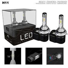 Xenon White 6000K H11 60W Low Beam Headlight LED Lights Bulb Conversion Kit