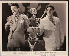 ZOMBIES ON BROADWAY (1944) WALLY BROWN & ALAN CARNEY - ORIG. STILL!