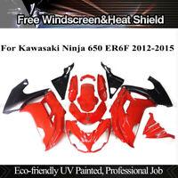 Red Fairing Kit for Kawasaki Ninja 650 2012-2016 13 14 15 ABS Injection Bodywork