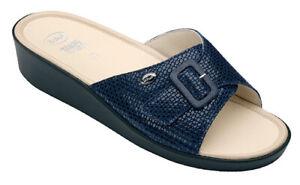 Scholl Comfort Plus Mango Sandals - Navy Blue