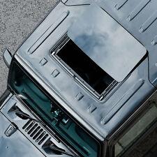 PAPYS OpenTop Jeep Wrangler JK Freedom Top Electronic Sunroof Upgrade Matt Black