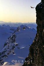 Motivazionali: coraggio-MAXI POSTER 61cm x 91,5 cm (nuovo e sigillato)