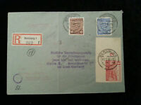 Deutschland  Alliierte Besetzung 1946 - Brief Bernburg nach  Halle / Saale