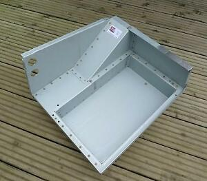 Seat Box Base Locker Twin Battery Box / Tool Tray for Land Rover Series 2 2a 3