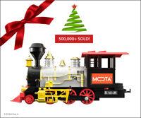 🚂 ** CHRISTMAS TRAIN SET ** AROUND TREE HOLIDAY TRAIN - REAL SMOKE SOUND LIGHT