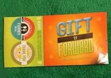 2015 Gift It Forward Chick-Fil-A Kids Meal Coupon Book Surprise Childrens Toy