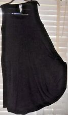 NWOT Lunn by Lilith France ~ Art to Wear ~ Black Quirky Balloon Jersey Dress ~ 5