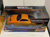 Jada Toys Fast and Furious Brian's Toyota Supra 2.4 GHz R/C Car/Toy NIP