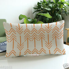 New Arrow Print Waist Cushion Sofa Bed Home Casual Decoration Pillow Case Cover