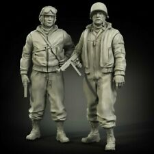 1//35 Resin Winter Wounded German Soldiers unpainted unassembled BL953