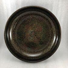 AC11 Antique Japanese Tsugaru Wakasa Lacquer Round ฺBowl Plate  10 5/8''