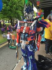 Optimus Prime Mascot Hire Manchester Area