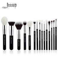 Jessup Pro 15PCS Soft Makeup Brushes Set Cosmetic Powder Face Eye Brow Liner Kit