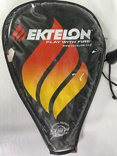 EKTELON O3 Red 2700 Racquetball Racquet w/ Case and Glasses