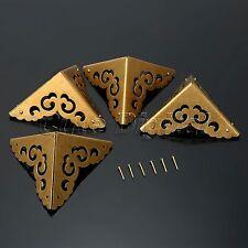 Brass Decorative Corners Protector for Jewelry Box Cabinet Trunk Case Furniture