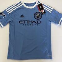 Frank Lampard 8 Blue NYCFC Youth MLS Soccer ADIDAS Size medium NWT