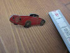 Jaguar xk 140  Pin  Anstecker rot