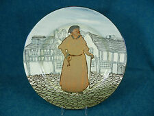 "Royal Doulton Dogberry Constable 10 3/8"" Plate"