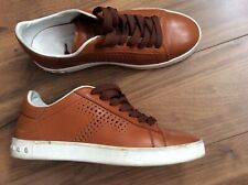 Tods - TOD'S CASSETTA - tan sneakers - RRP £330 - uk size 36 / UK 4