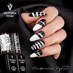 Victoria Vynn GEL POLISH BLACK WHITE Colours Art Hybrid UV/LED Soak Off