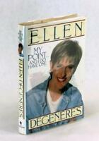 Signed First Edition Ellen Degeneres My Point...And I Do Have One Hardcover w/DJ
