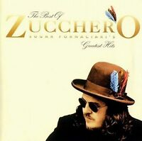 The Best Of Zucchero Sugar Fornaciara's Greatest Hits 1999 UK-only 16-trk CD NEW