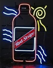 "New Red Stripe Bar Beer Light Neon Sign 24""x20"""