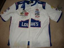 Jimmie Johnson #48 Lowe's Button Shirt Embroidered 2X JH NEW