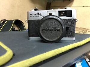 Minolta HI- MATIC 7S II Film Camera In Perfect Working Condition.