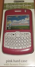 Hard shell case BI screen protector Blackberry Curve 8300, 8310, 8320, 8330 PINK