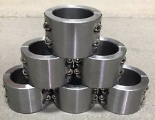 """6 - 2 Pc Steel Universal Weld On Fabrication Clamps 1.50"""" - 4 Blt  Roll Bar Cage"""