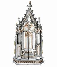 Autel de Maison Tryptique Sacré Bildtafel Reisealtar Croix Religieux Sculpture