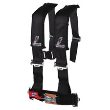 """New listing Dragonfire Racing 4-Point H-Style Safety Harness w/Sternum Clip 2"""" Black 14-0025"""